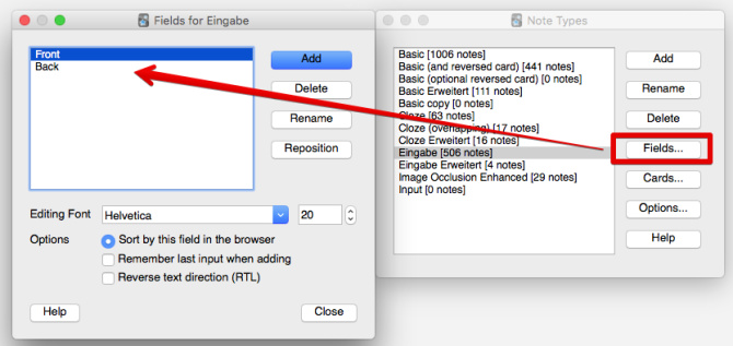 How to set up an Anki card with input field - Learn Code Forum